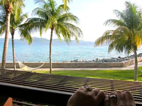 Honeymooning on Peter Island (June 2012)
