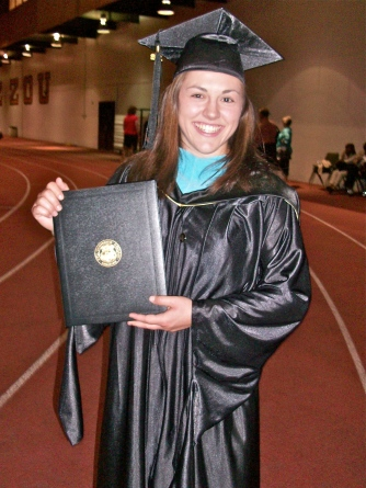 Master's degree in Sport Psychology and Health Promotion (May 2012)