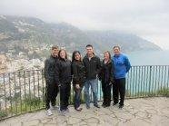 Overlooking the Amalfi Coast